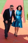 Alec Baldwin and Hilaria Baldwin attend the photo call for 'Seduced and Abandoned' during The 66th Annual Cannes Film Festival held at the Palais Des Festivals as part of the 66th Cannes Film Festival in Cannes