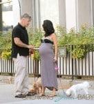 Alec Baldwin, And His Wife Hilaria Baldwin Walk the Dogs in New York City.