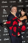 Alec Baldwin whisks his wife Hilaria off her feet in Madrid
