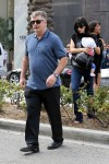 Alec and hilaria Baldwin out in LA with their daughter Carmen