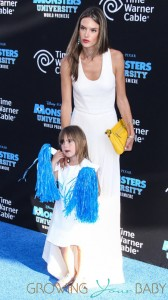 Alessandra Ambrosio at the world premiere of 'Monsters University' held at the El Capitan Theatre in Hollywood