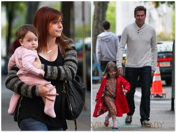 Alyson Hannigan and Alexis Denisof Stroll in New York City ...
