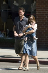 Alyson Hannigan and Family Shop in LA 09