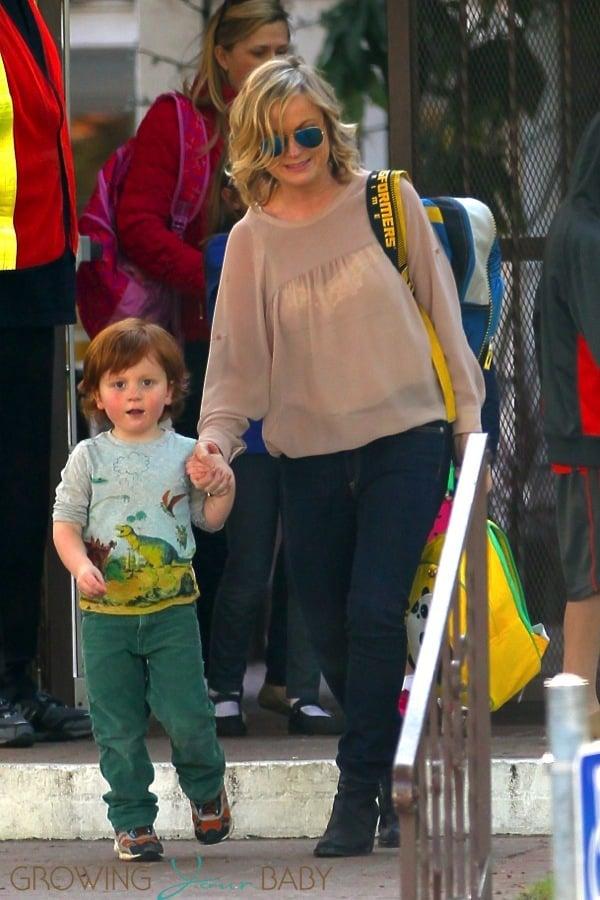 Amy Poehler Picks Abel Arnett From School Growing Your Baby