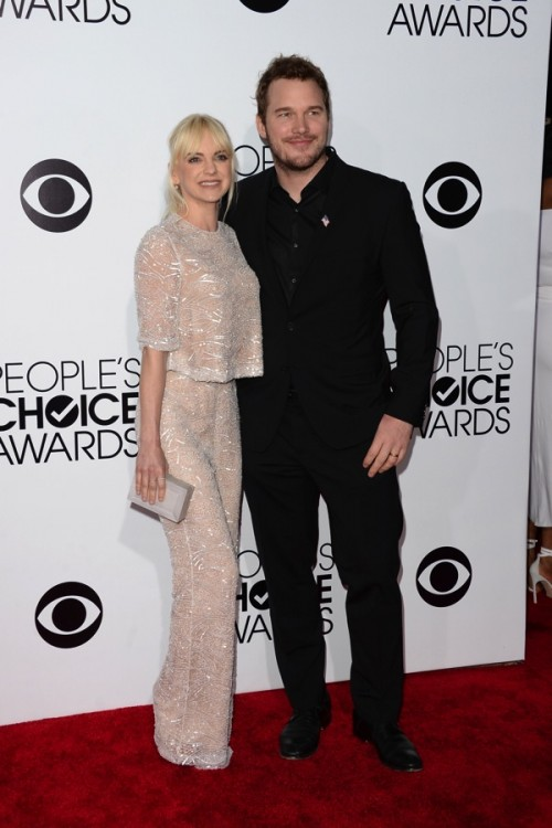 Anna Faris - 40th annual People's Choice Awards, Los Angeles