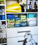 Ashley Hebert Shares a picture of her baby's closet