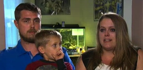 Autumn and Anthony Nelson with son Ian