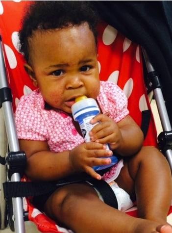 Baby Abandoned at columbus circle subway station NYC
