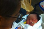 Baby Faith born to mom Jessie Ayagalria