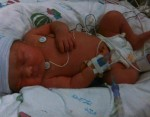 Baby Faith born to mom Jessie Ayagalria Alaska