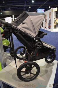 Baby Jogger 2014 Summit X3 Double - side view