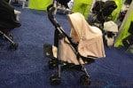 Baby Jogger 2014 Vue Stroller - seat reversed in white