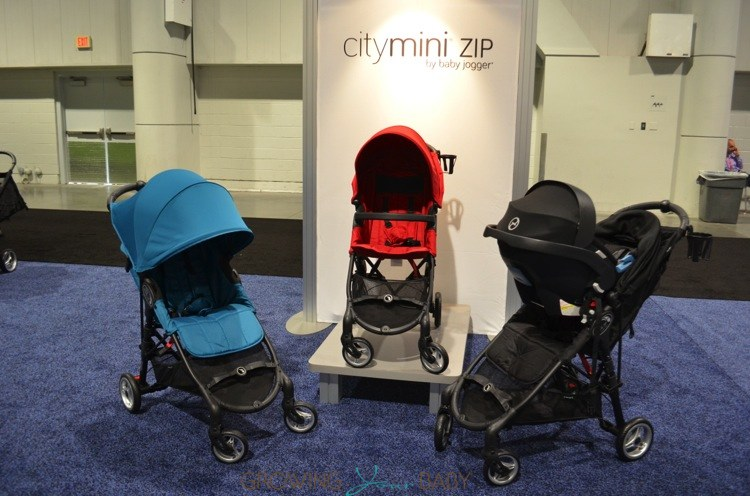 Baby Jogger City Mini Zip Stroller Collection Growing