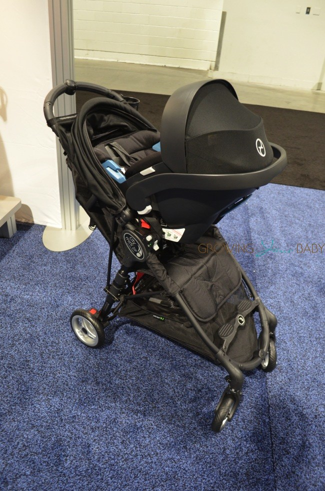 Baby Jogger City Mini Zip Stroller With Infant Seat