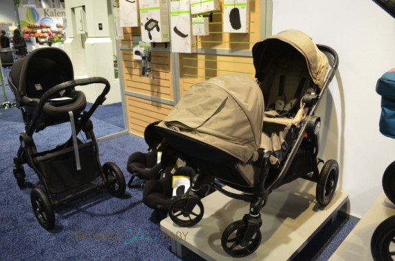 Baby Jogger City Select stroller - in Sand