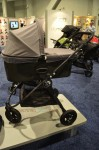 Baby Jogger Deluxe Pram on a city mini