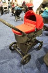 Baby Jogger Deluxe Pram on a city select