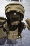 Baby Jogger Vue Double Stroller - showing the switch