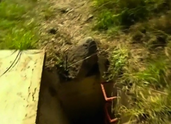 Baby abandoned in a storm drain in Australia