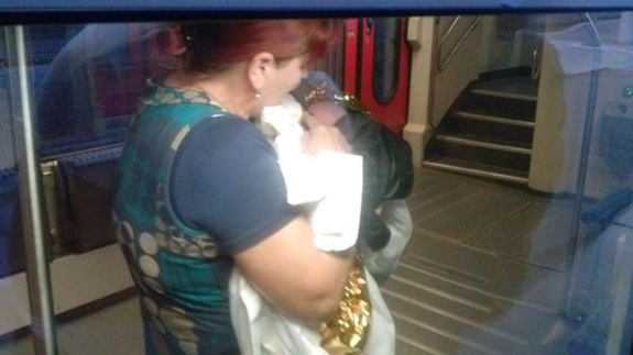 Baby born on a train in Germany