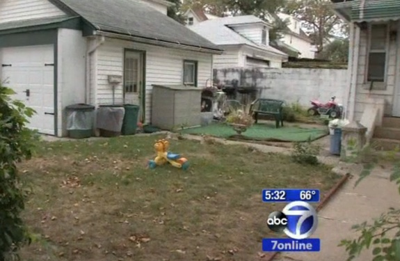 Baby found abandoned in a backyard in Queens
