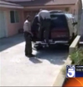 Baby found locked in car in Carson CA
