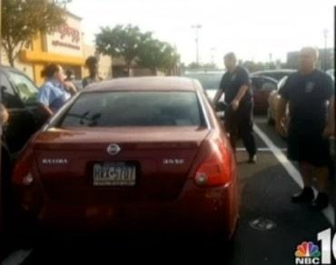 Baby left in car outside Walmart Philadelphia