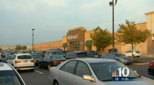 Baby left in car outside Walmart Philadelphia