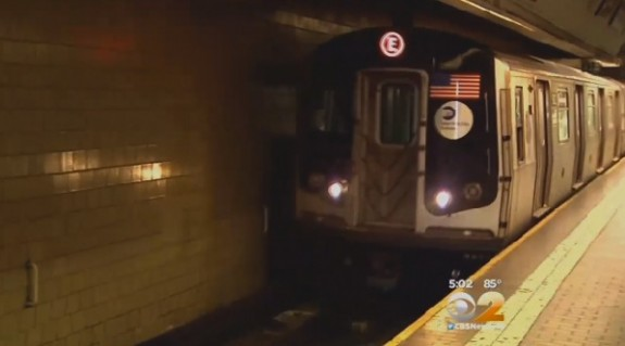 Baby rolls off platform onto subway tracks Jamaica plains station
