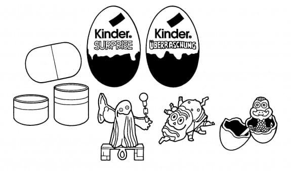 Banned Kinder egg