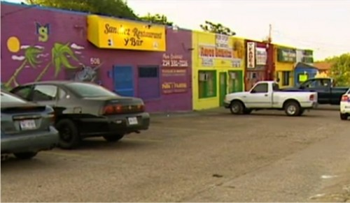 Bar where toddler was found in car by strangers