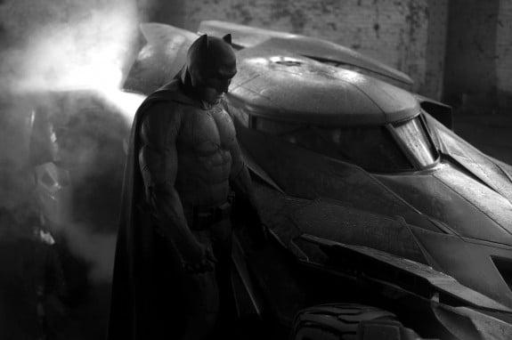 Ben Affleck as Batman - first promo shot