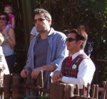 Ben Affleck at Disneyland
