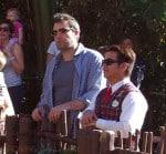 Ben Affleck at Disneyland