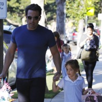 Ben Affleck Does The School Run With Seraphina