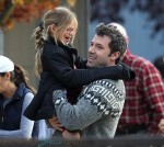 Ben Affleck with daughter Violet at her basketball game