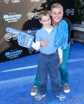 Ben Edward Sanov and Alison Sweeney at the world premiere of 'Monsters University' held at the El Capitan Theatre in Hollywood