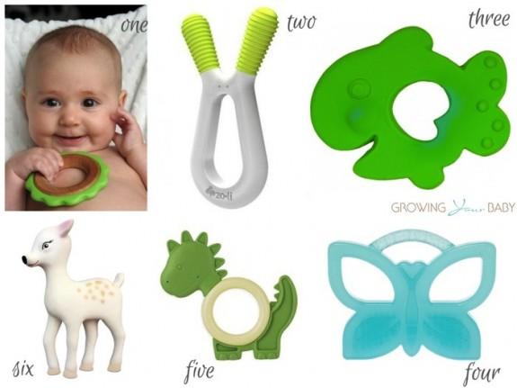 Best baby teethers 2