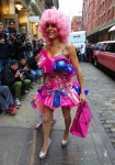 Bethenny Frankel dresses up in a candy for Halloween