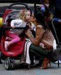 Bethenny Frankel Gives Daughter Bryn A Kiss