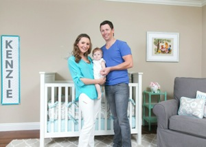 Beverley Mitchell Shows Off Her Daughter Kenzie's Nursery