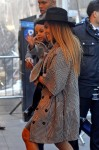 Beyonce and Blue Ivy at the premiere of Annie