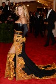 Beyonce at the 2013 Met Gala at the Metropolitan Museum of Art