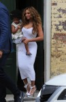 Beyonce carries Daughter Blue Ivy after sister Solange's wedding