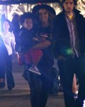 Beyonce with daughter Blue Ivy out in Paris