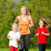 British Study: Active Moms Have Active Children