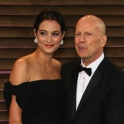 Bruce Willis and Emma Heming Pose For The Cameras At The Vanity Fair Party