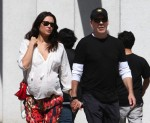 Bruce Willis out in LA with pregnant wife Emma Heming