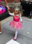 Bryn Hoppy dresses up for Halloween