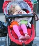 Bethenny Frankel Takes Daughter Bryn On A Walk In New York
